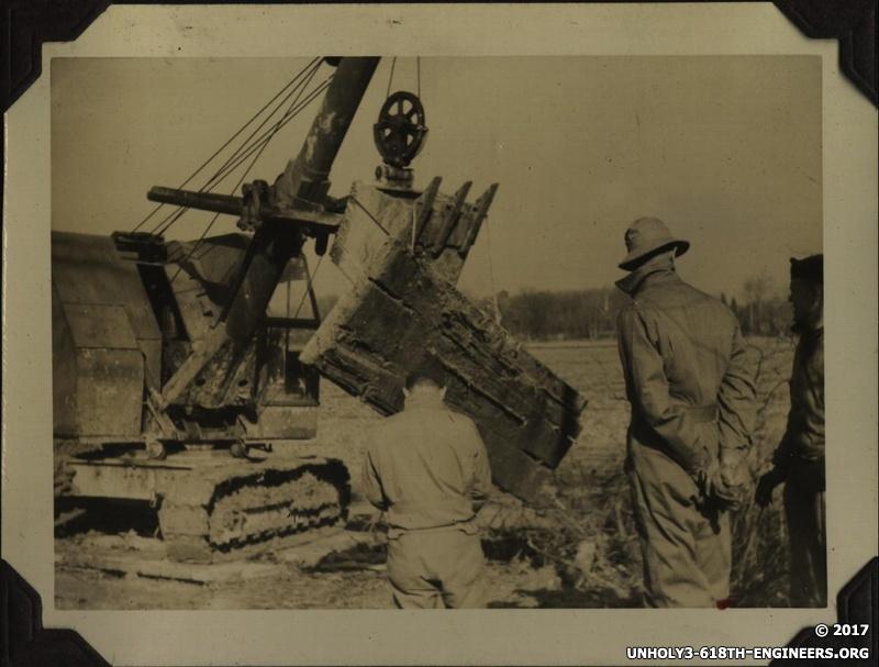 WWII steam shovel
